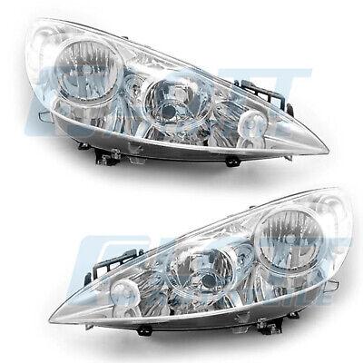 Peugeot 308 09//07-04//11 Scheinwerfer H1//H7 rechts mit Motor für LWR
