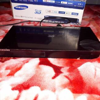 Samsung Smart 3-D Bluray Player Barely Used