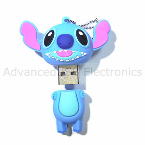 cl usb key usb usb stick 8go fantaisie monstre stitch. Black Bedroom Furniture Sets. Home Design Ideas