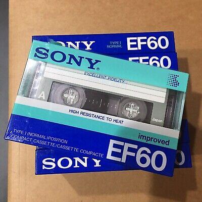 Sony Neu! j Fx C90分 Cassette Ferric Uk-eu-version `90ger Neuin Folie