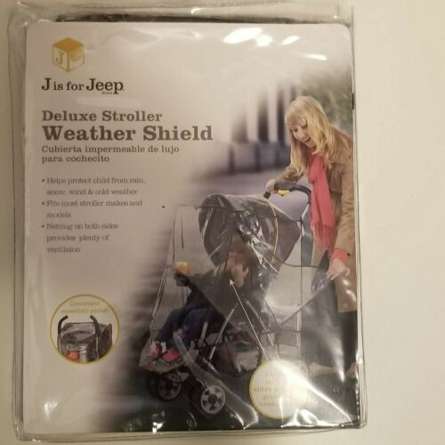 Deluxe Stroller Weather Shield, Rain Cover, Waterproof Canopy, Universal Size