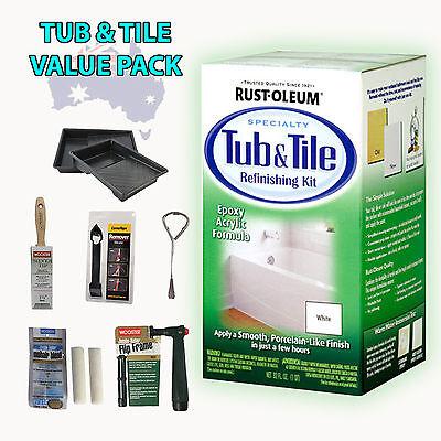 Rustoleum Rust Oleum Tub Amp Tile Refinishing Complete Value