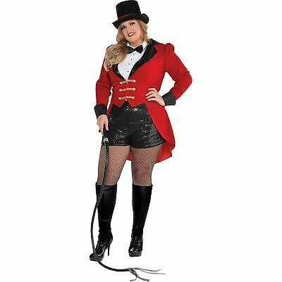 Adult Ringmaster Costume (Circus Ringmaster Halloween Costume for Adults, Plus Size, with)