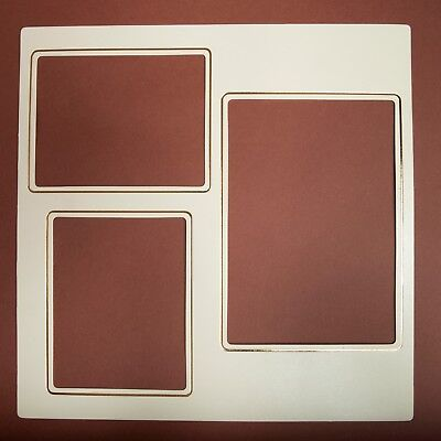 Art Leather Futura Album Large Mats (Package of 10) #503 Color: Ivory