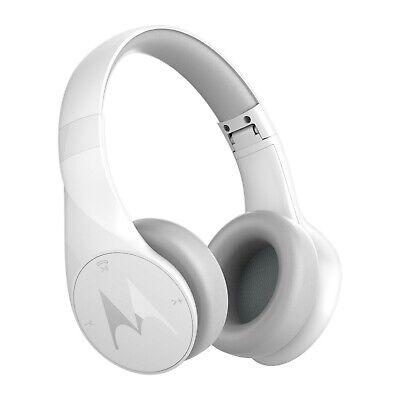 Motorola Pulse Escape Wireless Over-Ear Studio Headphones - White
