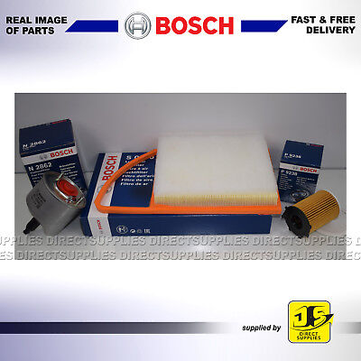 BOSCH SERVICE KIT CITROEN DS3 1.6 HDi DV6DTED OIL AIR FUEL FILTERS