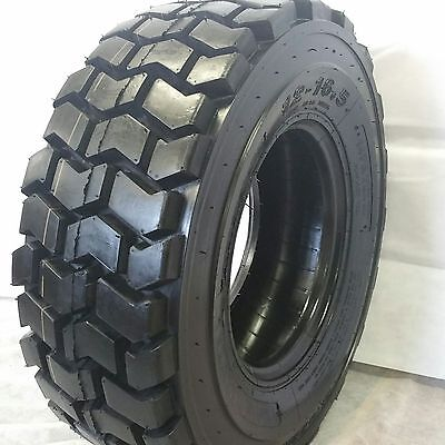 1 New 10x16.5 Road Warrior Rs-102 Skid Steer Tires 14 Ply For Bobcat And Others