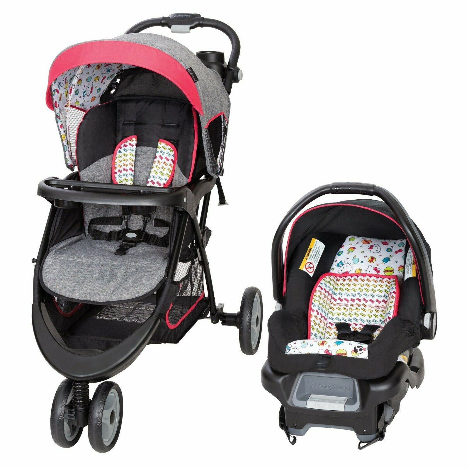 Baby Trend Stroller with Car Seat EZ Ride 5 Travel System He