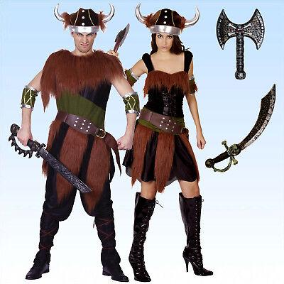 Samt Kostüm Wikinger oder Wikingerin Wikingerkostüm Vikinger Vikingerin - Viking Kostüm