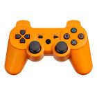 Sony PlayStation 3 Orange Controllers