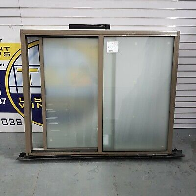 Aluminium Sliding Window 1200H x 1445W (Item 4753) Jasper DOUBLE GLAZED