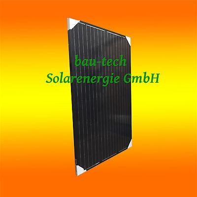 Solarmodul 250Watt Black Monokristallin Solarpanel PV Modul Solarzelle