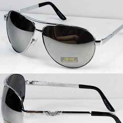 Mens Pilot Aviator Sunglasses Shades Retro Fashion Designer Wrap Large Classic Retro Plastic Aviator Sunglasses