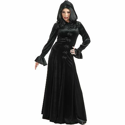 Twilight Hooded Dress Gothic Vampire Wine Sexy Dress Up Halloween Adult Costume - Vampire Dress Up Twilight