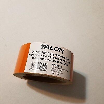 2 X 30 6mil Solid Orange Talon Reflective Tape Roll