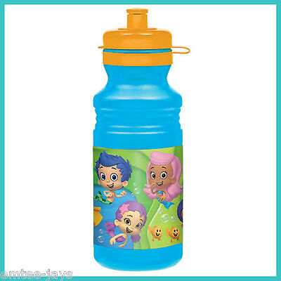 BUBBLE GUPPIES Drink Bottle - Water Bottles - BPA Free - Birthday Party