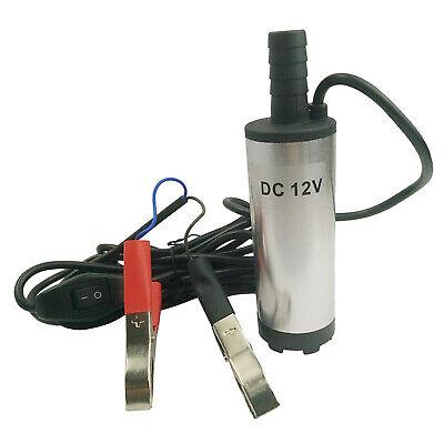 12v Submersible Transfer Pump Fuel Diesel Water Oil Transfer Refueling
