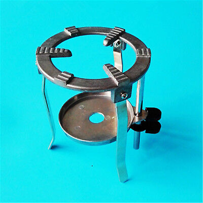 Laboratory Iron Tripod Holderlab Alcohol Burner Stands With Pallet