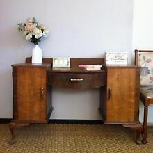 Antique BedroomVanity Dresser/Dressing Table or Study Office Desk Bexley Rockdale Area Preview