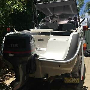 exchange 17' Savage Tasman boat for tractor Largs Maitland Area Preview
