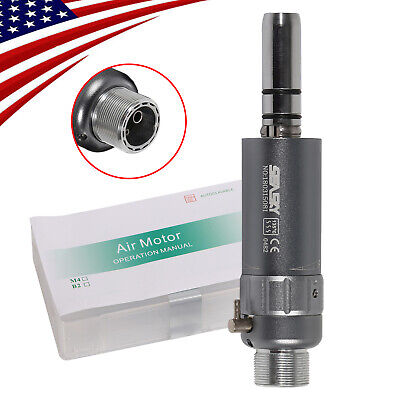 Dental Slow Low Speed Air Motor Micromotor 2h 2-h Handpiece Connector E-type Ce