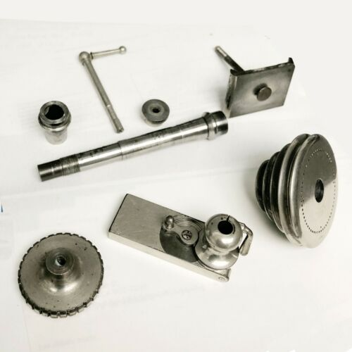Watchmaker lathe PARTS USED WOLF JAHN & COMPANY MADE IN GERMANY