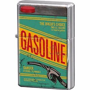 Benzina-Accendino-nostalgia-retro-ricaricabile-Collettore