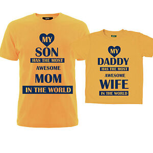Dad-and-Son-Tshirts-awesome-wife-mom-Family-matching-t-shirts