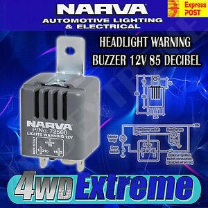 NARVA-HEADLIGHT-ON-WARNING-BUZZER-12-VOLT-85-DECIBEL-LIGHT-ALARM-72560BL