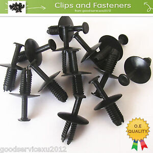 50-Pcs-Bumper-Trim-Door-Sill-Rivet-Clips-Retainer-For-E38-E39-E46-E53-3-5-Series