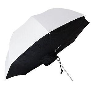 Ombrello-Diffusore-Softbox-Portatile-DynaSun-SB1005-Bianco-Nero-109cm-per-Flash