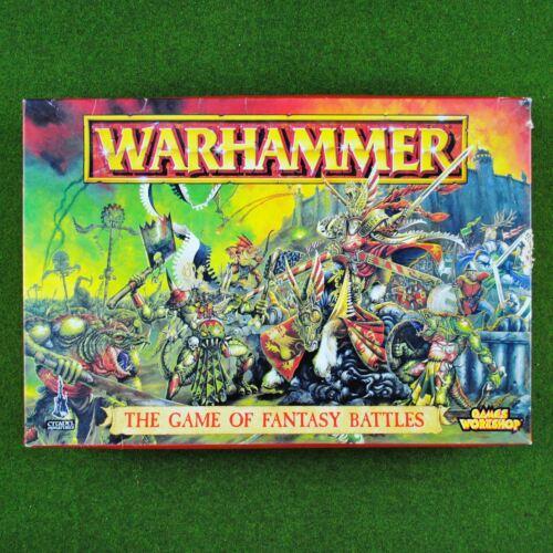 Warhammer Fantasy 5th Edition (1996) Core Game - Rare OOP - Bretonnian Lizardmen