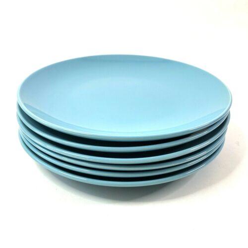 Ikea Fargrik Turquoise Dinner Plates Set of 6