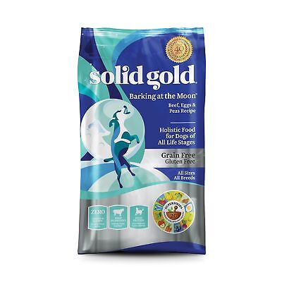 Solid Gold High Protein Dry Dog Food, Barking at the Moon Grain-Free with Real Bark At Gluten Free