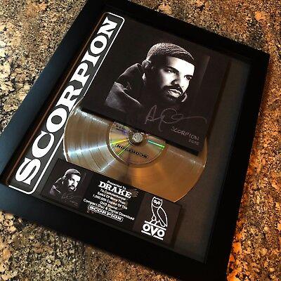 DRAKE SCORPION Platinum Record Disc Album Music Award Grammy RIAA Jay Z Kanye
