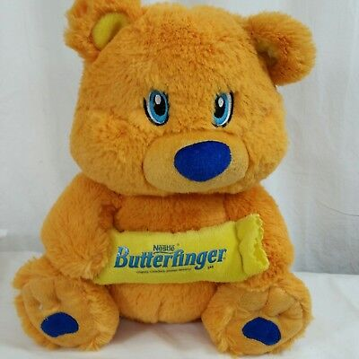 Nestle Butterfinger Candy Bar Bear Orange Teddy Bear Soft Plush KellyToy 10