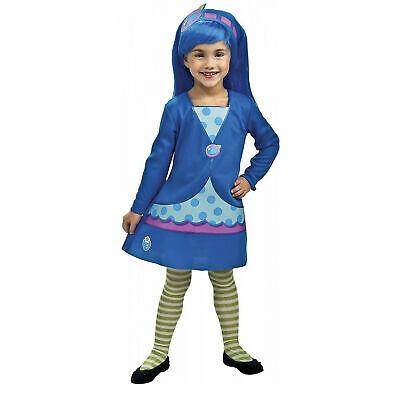 Toddler's Girl's Blueberry Muffin Strawberry Shortcake Halloween Costume Dress