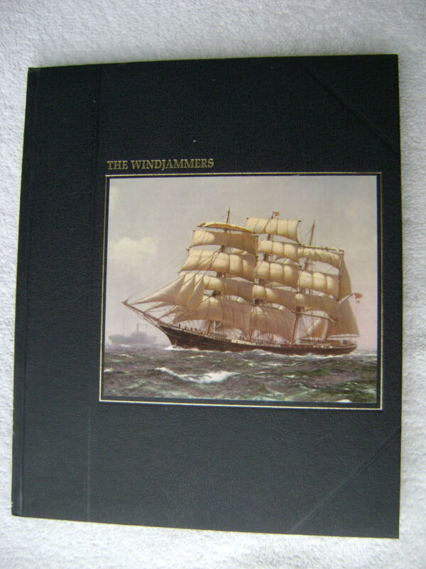 THE WINDJAMMERS BOOK MARITIME NAUTICAL MARINE (#026)
