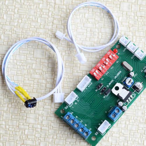1 x model railroad automatic block section signaling controller + train detector