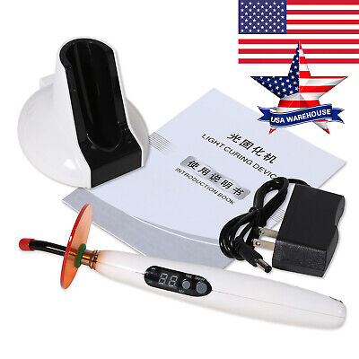 Usa Dental Led Wireless Cordless Curing Light Lamp 1400mw Similar Woodpecker Bd