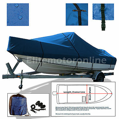 Sea Ray 250 Express Cruiser Cuddy Cabin Trailerable All Weather Boat Cover Blue