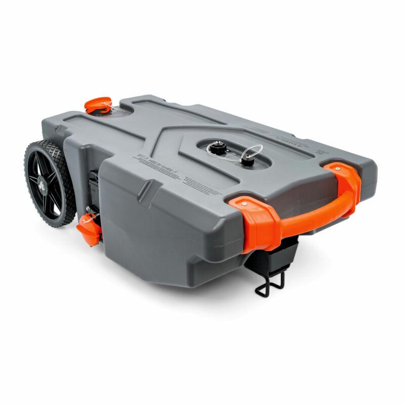 Camco Rhino Portable 36 Gallon RV Waste Tank Holding Hose, Accessories(Open Box)