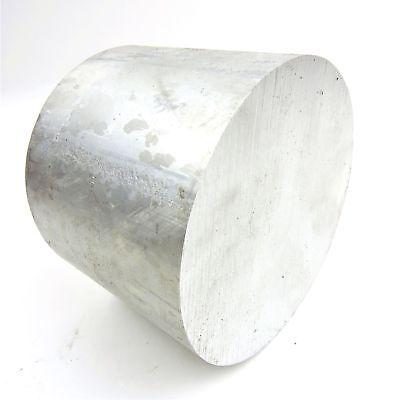 6.25 Diameter 6061 Solid Aluminum Round Bar 5.25 Long Lathe Stock Sku Sp Round