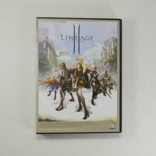 Lineage 2 - The Chaotic Chronicle [Korea Edition, Client CD, Guide Book] NC Soft