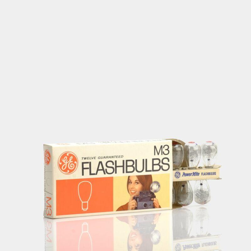 General Electric M3 Packfilm Flash Bulbs