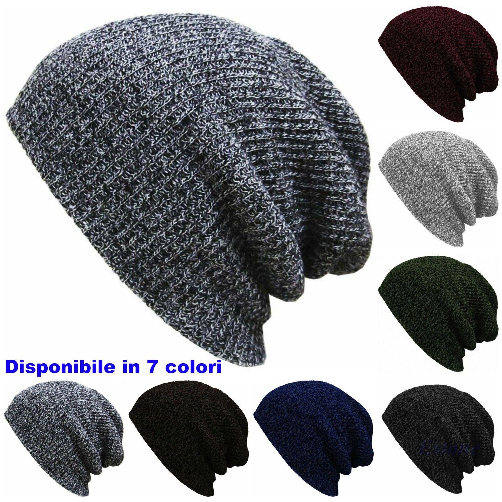 Cappello invernale unisex cuffia beanie berretto uomo donna  -  Novità 2016/17