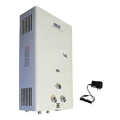 New Aquah 16 L 4 3 Gpm Indoor On Demand Natural Gas Tankless Water Heater  Sale