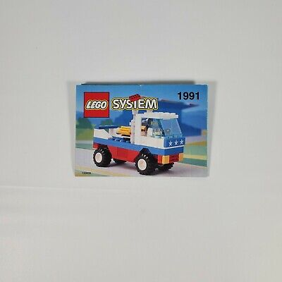 Vintage Lego 1991 Racing Pickup Classic Town Original Manual Instructions Only