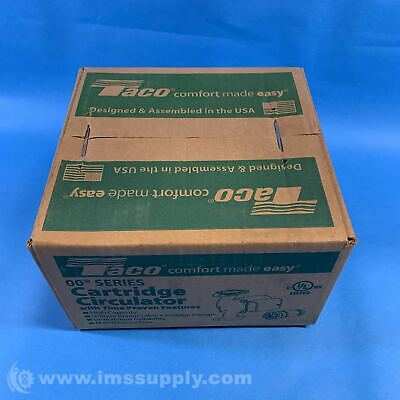Taco 009-bf5-j Circulating Pump For Outdoor Wood Boilers Fnfp
