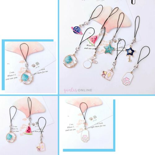 Cute Hanging Strap Star Fruits Phone Charms For iPhone 11 12 PRO MINI XS SE 2020